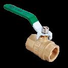 Кран шаровый полнопроходной MVI 'H2O' внутренняя-внутренняя, ручка