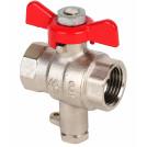 Кран для подключения термодатчика MVI