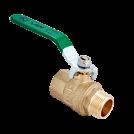 Кран шаровый полнопроходной MVI 'H2O' внутренняя-наружная, ручка