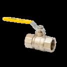 Кран шаровый газовый полнопроходной MVI внутренняя-внутренняя, ручка рычаг