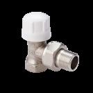 Клапан термостатический угловой MVI