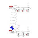 Узел этажный для теплоснабжения, тип MF3 (Econom)