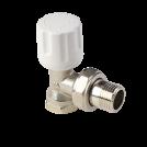 Вентиль радиаторный угловой ручной регулировки MVI