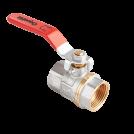 Кран шаровый полнопроходной AquaHit внутренняя-внутренняя, ручка